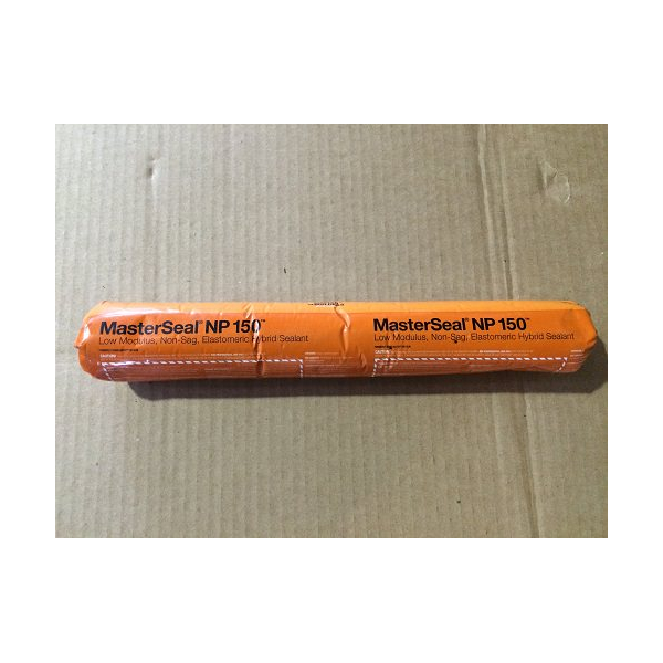 MasterSeal NP 150 Black High Performance Low Modulus Hybrid Sealant Sausage NP150BS
