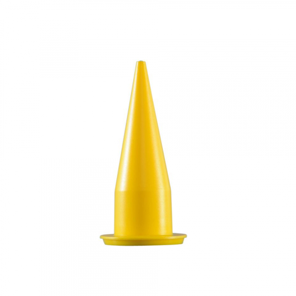 Cox Caulking Gun Replacement Yellow Nozzle Cone 2N1006