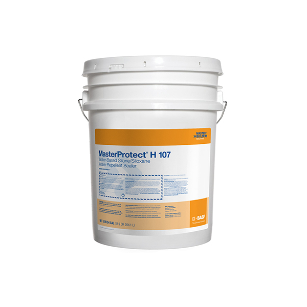 BASF MasterProtect H 107 Silane-Siloxane Water-Repellant Sealer - 5 Gallon - H107