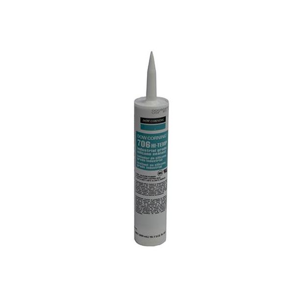 Dow Corning 706 Hi-Temp Silicone Sealant - 12 Cartridges 706-12