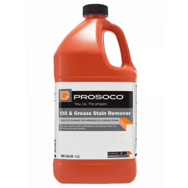 Prosoco Stand Off Oil & Grease Stain Remover - 1 Gallon Bottle 55006-1GAL