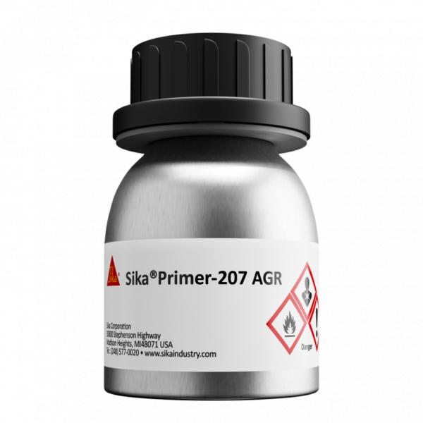 Sika Primer 207 AGR Pigmented Solvent-Based Black Primer - 100 ml Bottle 589630