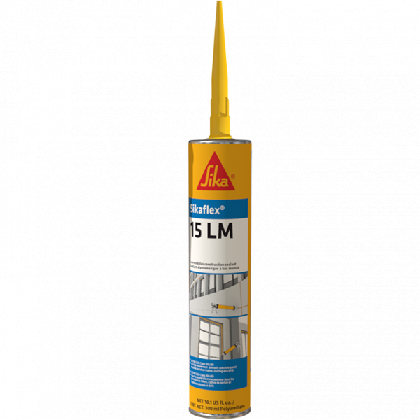 Sikaflex 15LM Almond Low Modulus One-Part Polyurethane Sealant - 10.1 Fluid Ounce Cartridge 15LMALM