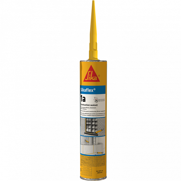 Sikaflex 1A Limestone One Part Polyurethane Sealant Adhesive - 10.1 Fluid Ounce Cartridge 1AL