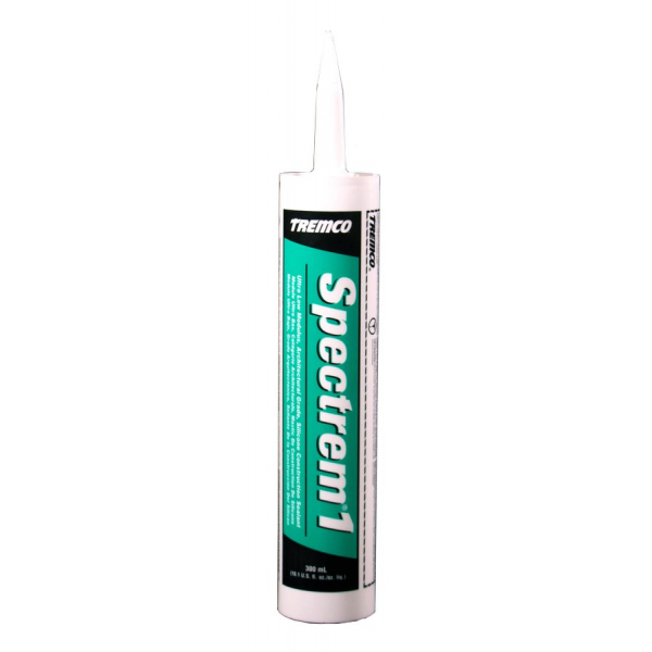 Tremco Spectrem 1 Aluminum Stone Ultra Low-Modulus Silicone Joint Sealant Cartridge 946851 323