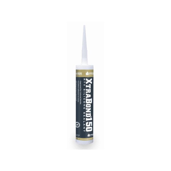 Premier XtraBond 150 Clear RTV Silicone Sealant 10.1 Fluid Ounce Cartridge XB150C